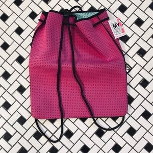 MYTAGALONGS Pink/Teal Reversible Carry All